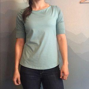 EUC Prana 3/4 sleeve active wear top